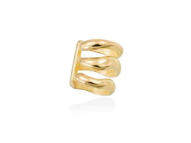 Ear Cuff DANA  in golden silver de Marina Garcia Joyas en plata Ear Cuff in 18kt yellow gold plated 925 sterling silver. (size: 1,5 cm.)