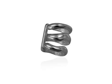 Ear Cuff DANA  in black silver