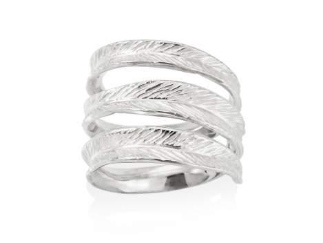 Ring NARA  in silver