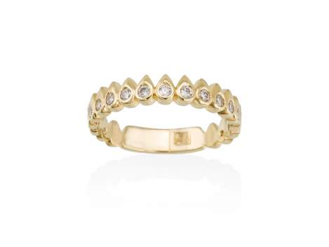 Ring SWEET-PUNK  in golden silver