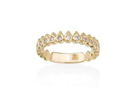 Ring SWEET-PUNK  in silber vergoldet