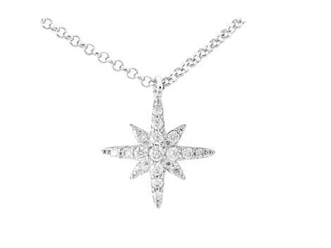 Collar ESTRELLA para novias en plata