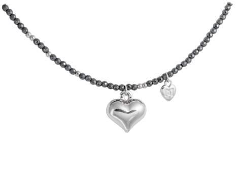 Gargantilla HEART en plata