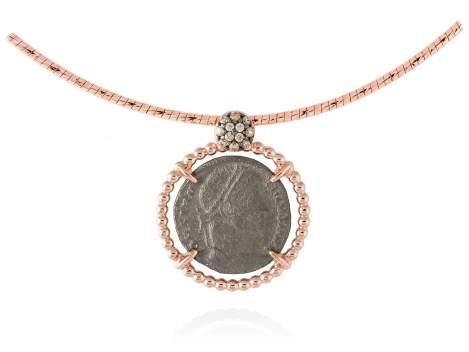 Colgante OLIMPO en plata rosa