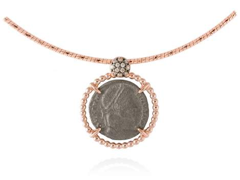 Pendant OLIMPO in rose silver