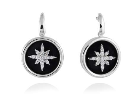 Earrings STELLA in silver