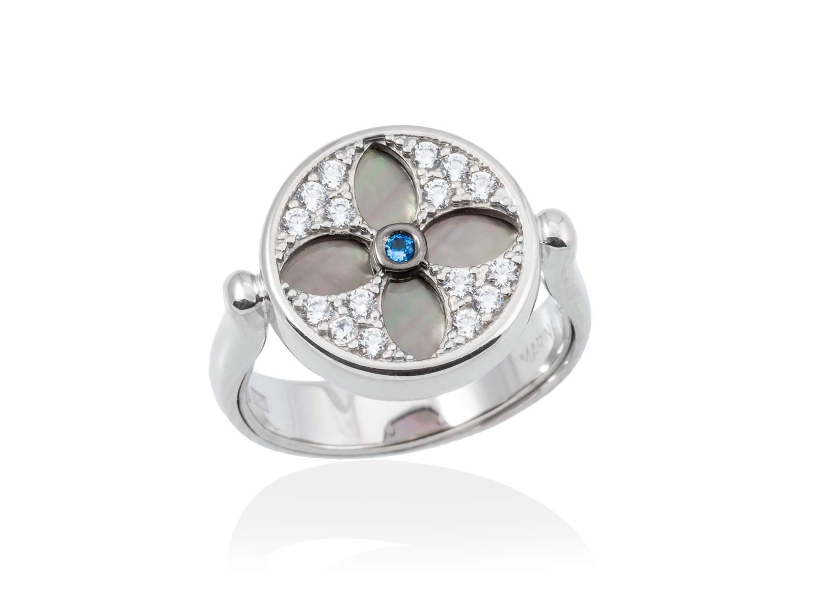 f329c4bfe673f Ring DUOMO Blue in silver