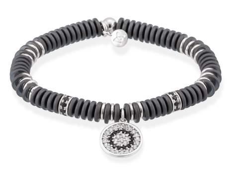 Bracelet FULL MOON in silver