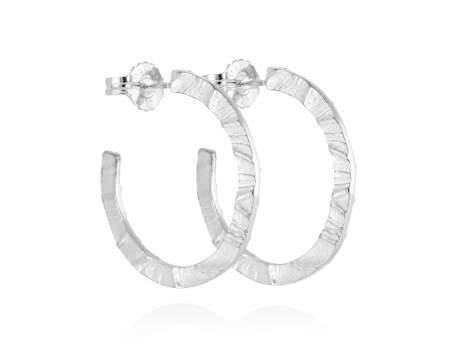 Earrings FOUNDANT in silver