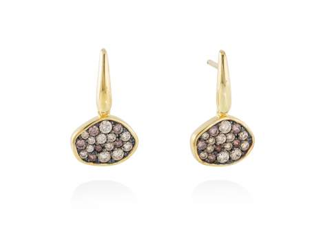 Earrings PATT Multicolor in golden silver