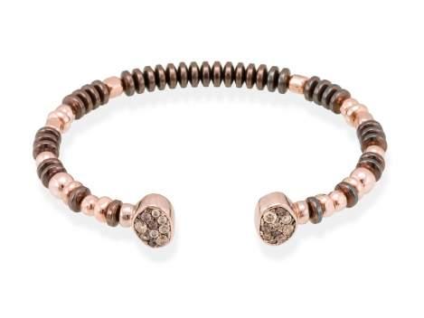 Bracelet LINX Multicolor in rose silver