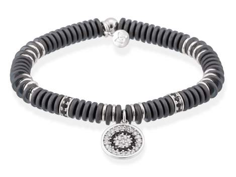 Bracelet FULL MOON in silver