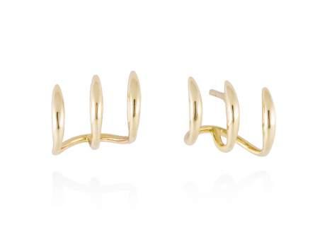 Earrings in 18kt. Gold