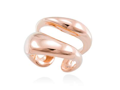 Ring HUMO  in rose silver