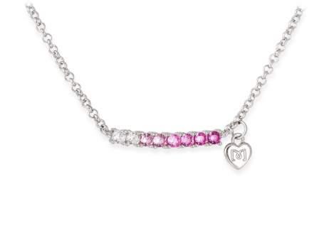 GEICAM solidarity necklace in silver