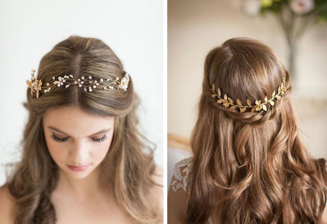 Asesoramiento un pendiente para cada peinado de novia - Peinados de novia actuales ...